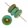 Turquoise Stablized Magnesite 5X11mm 8In Strand